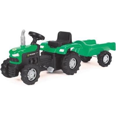 Buddy Toys BPT 1013 Šlapací traktor s vozíkem Fieldmann