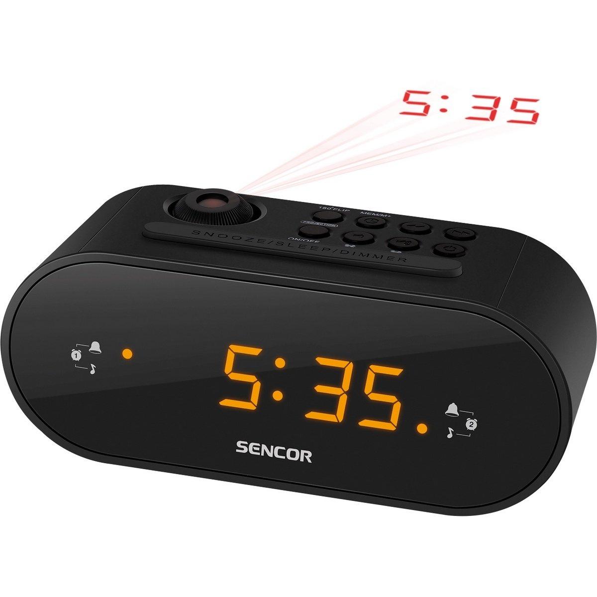 Sencor SRC 3100 B Radiobudík s projekcí