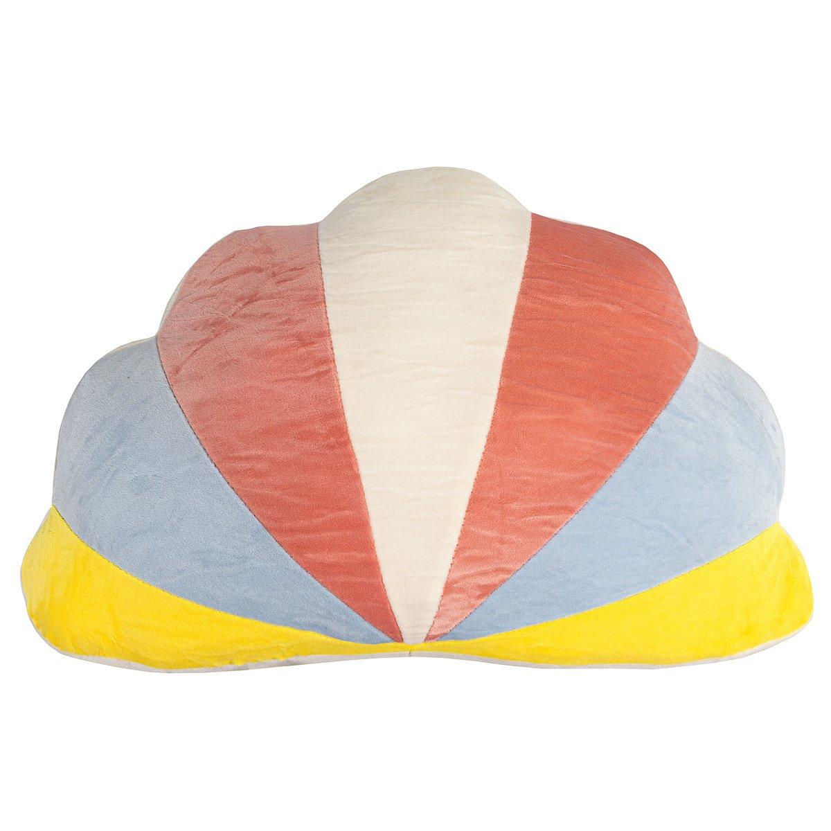 Tvarovaný polštářek Mráček barevná