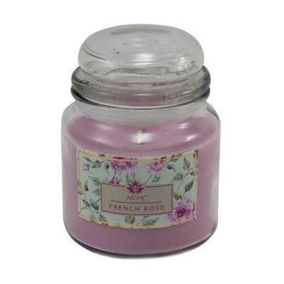 Arome Velká vonná svíčka ve skle French Rose