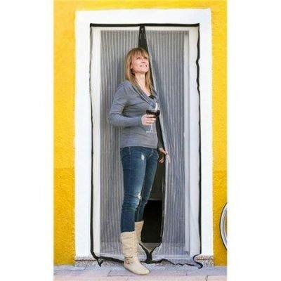 BRILANZ Síť na dveře proti hmyzu
