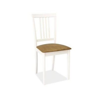 Jídelní židle CD-63 bílá