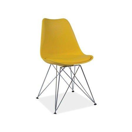 Jídelní židle TIM žlutá