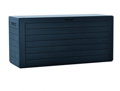 Zahradní úložný box Woodebox antracit