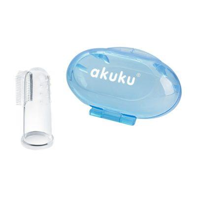 Akuku První zubní kartáček s pouzdrem