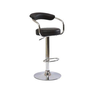 Barová židle C231 černá eko-kůže