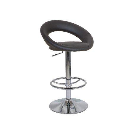 Barová židle C300 černá eko-kůže