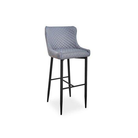 Barová židle COLIN B H-1 černá/šedá