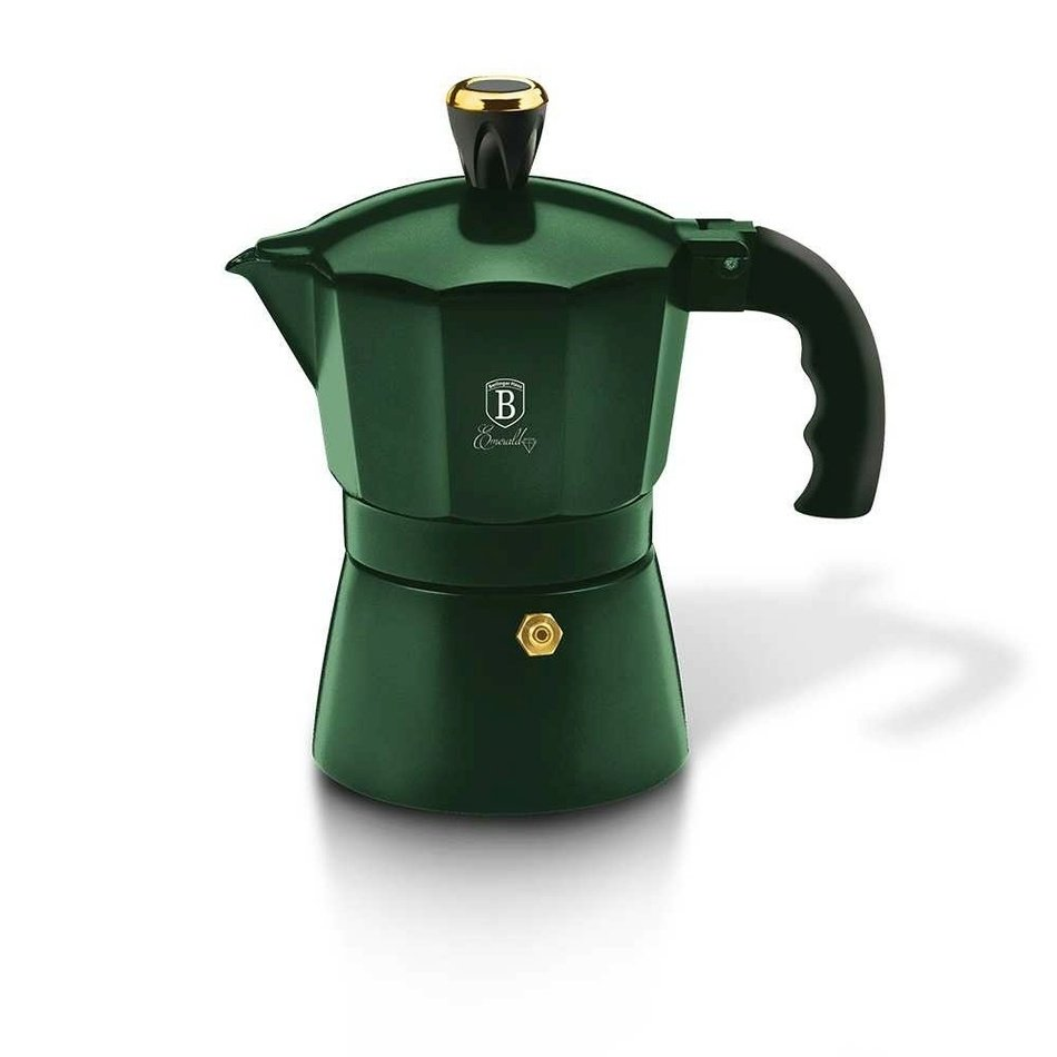 Berlinger Haus Konvice na espresso 3 šálky Emerald Collection