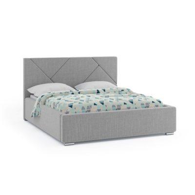 Čalouněná postel ANTIGO 180x200 cm Šedá