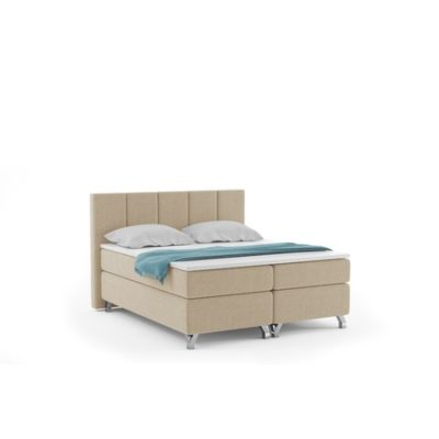 Čalouněná postel ATLANTIC včetně úložného prostoru 140x200 Béžová