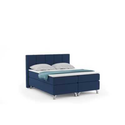 Čalouněná postel ATLANTIC včetně úložného prostoru 160x200 Modrá
