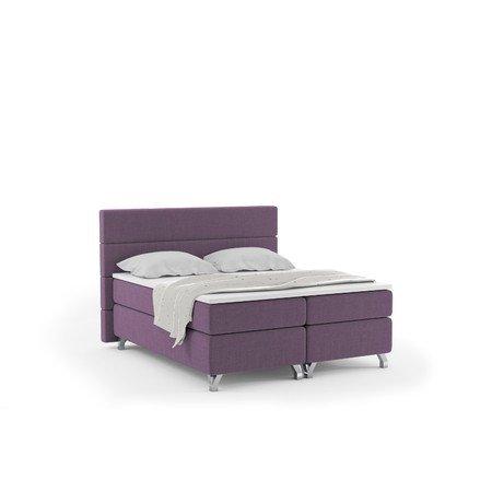 Čalouněná postel IMPERIA včetně úložného prostoru 140x200 Fialová
