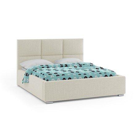 Čalouněná postel NOVATIC 160x200 cm Krémová