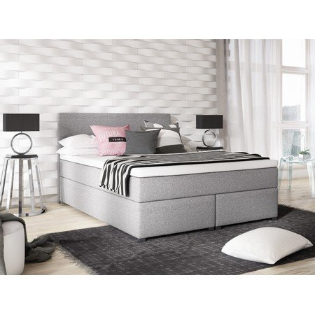Čalouněná postel VIERA 160x200 Béžová