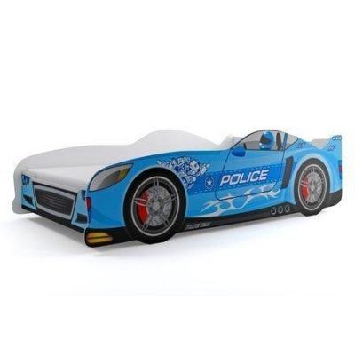 Dětská postel CARS 160x80 cm Modrá