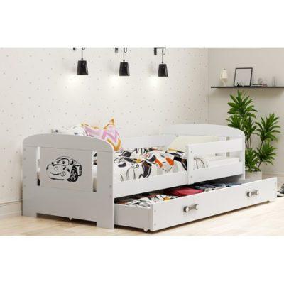 Dětská postel FILIP 160x80 cm Auto