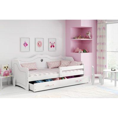 Dětská postel JULIA bílá 160x80 cm