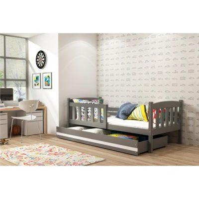Dětská postel KUBUS 160x80 cm Šedá