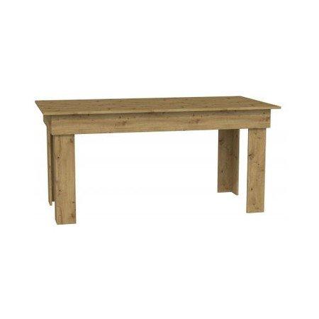 Jídelní stůl MADRAS 160 cm dub artisan