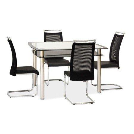 Jídelní stůl RODI sklo/chrom