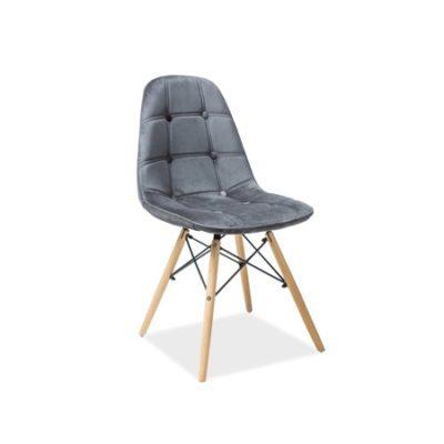 Jídelní židle AXEL III buk/šedá