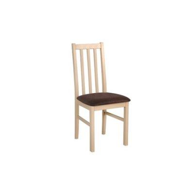 Jídelní židle BOSS 10 Bílá Tkanina 25X