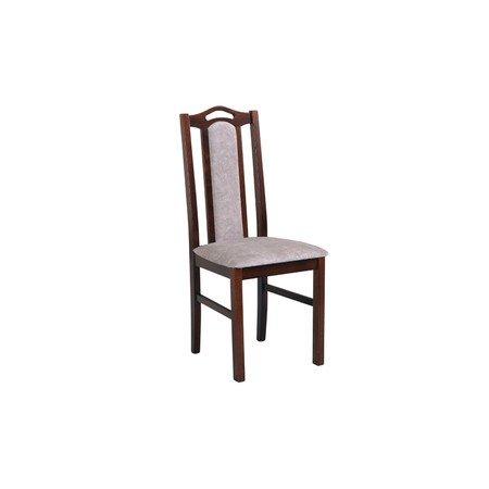 Jídelní židle BOSS 9 Bílá Tkanina 10