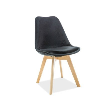 Jídelní židle DIOR buk/černá