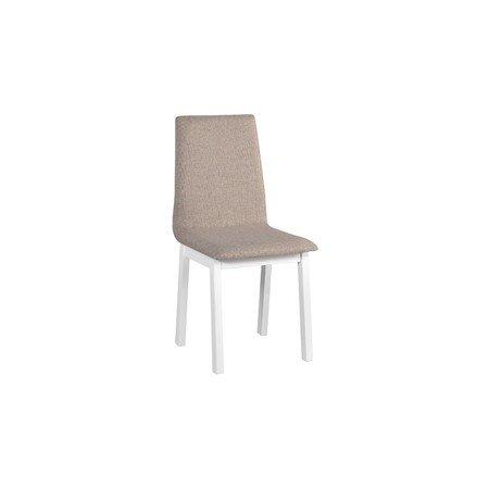 Jídelní židle HUGO 5 Bílá Tkanina 10