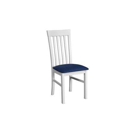 Jídelní židle MILANO 2 Bílá Tkanina 10