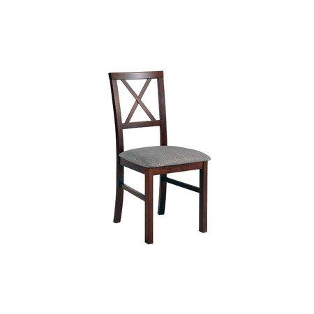 Jídelní židle MILANO 4 Bílá Tkanina 10