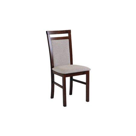 Jídelní židle MILANO 5 Bílá Tkanina 10
