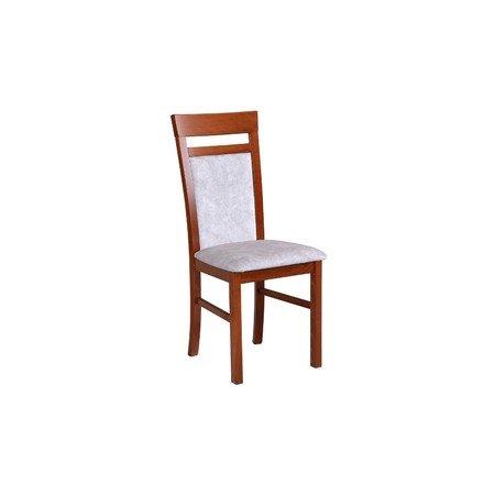 Jídelní židle MILANO 6 Bílá Tkanina 10