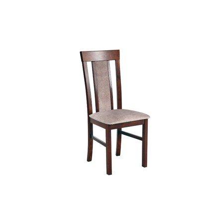 Jídelní židle MILANO 8 Bílá Tkanina 10