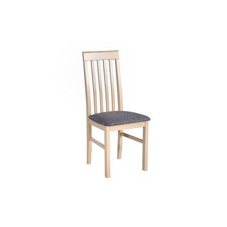 Jídelní židle NILO 1 Bílá Tkanina 10