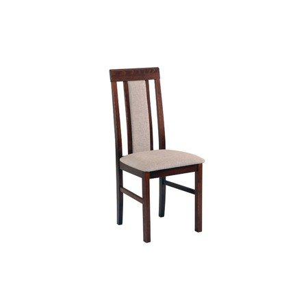 Jídelní židle NILO 2 Bílá Tkanina 10
