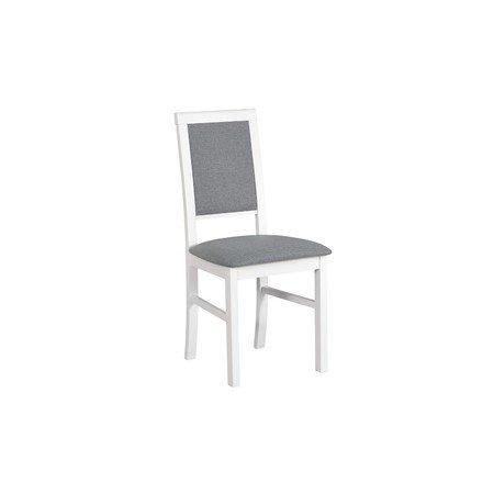 Jídelní židle NILO 3 Bílá Tkanina 10