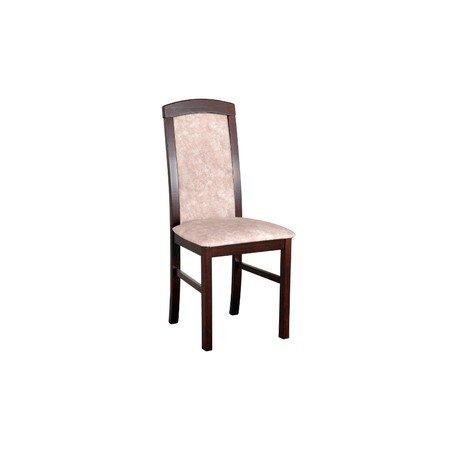 Jídelní židle NILO 5 Ořech Tkanina 10