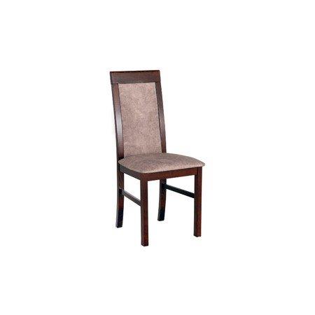 Jídelní židle NILO 6 Bílá Tkanina 10