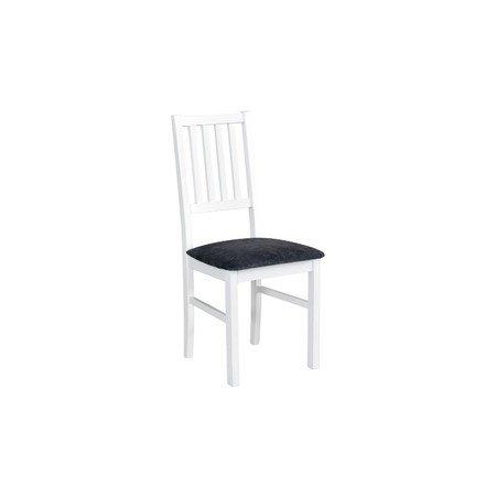 Jídelní židle NILO 7 Bílá Tkanina 10