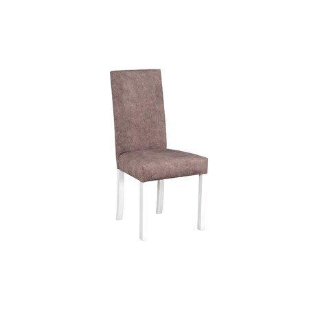 Jídelní židle ROMA 2 Bílá Tkanina 10