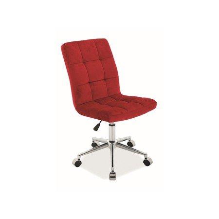 Kancelářská židle Q-020 červená