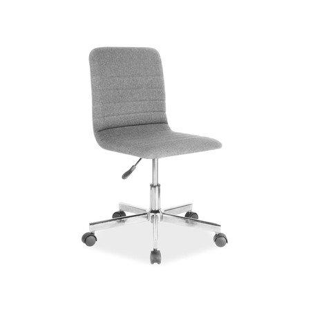 Kancelářská židle Q-M1 šedá