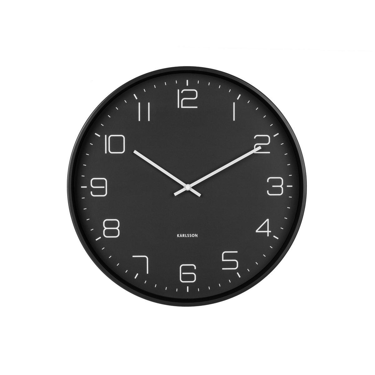 Karlsson KA5751BK Designové nástěnné hodiny