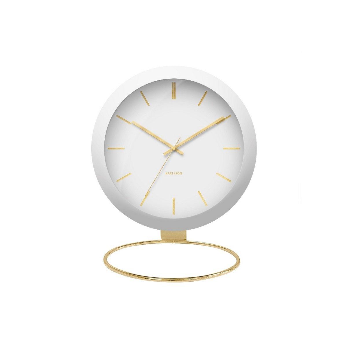 Karlsson KA5832WH Designové stolní hodiny