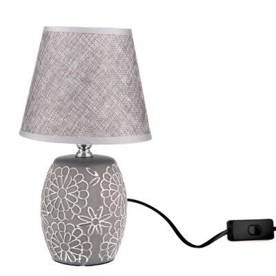 Keramická stolní lampa Flower