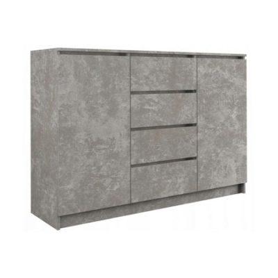 Komoda 2D4S 120 cm beton
