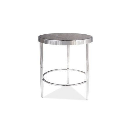 Konferenční stolek AURORA C mramor/chrom