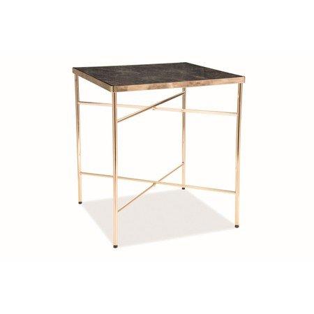 Konferenční stolek CALI zlatá/mramor